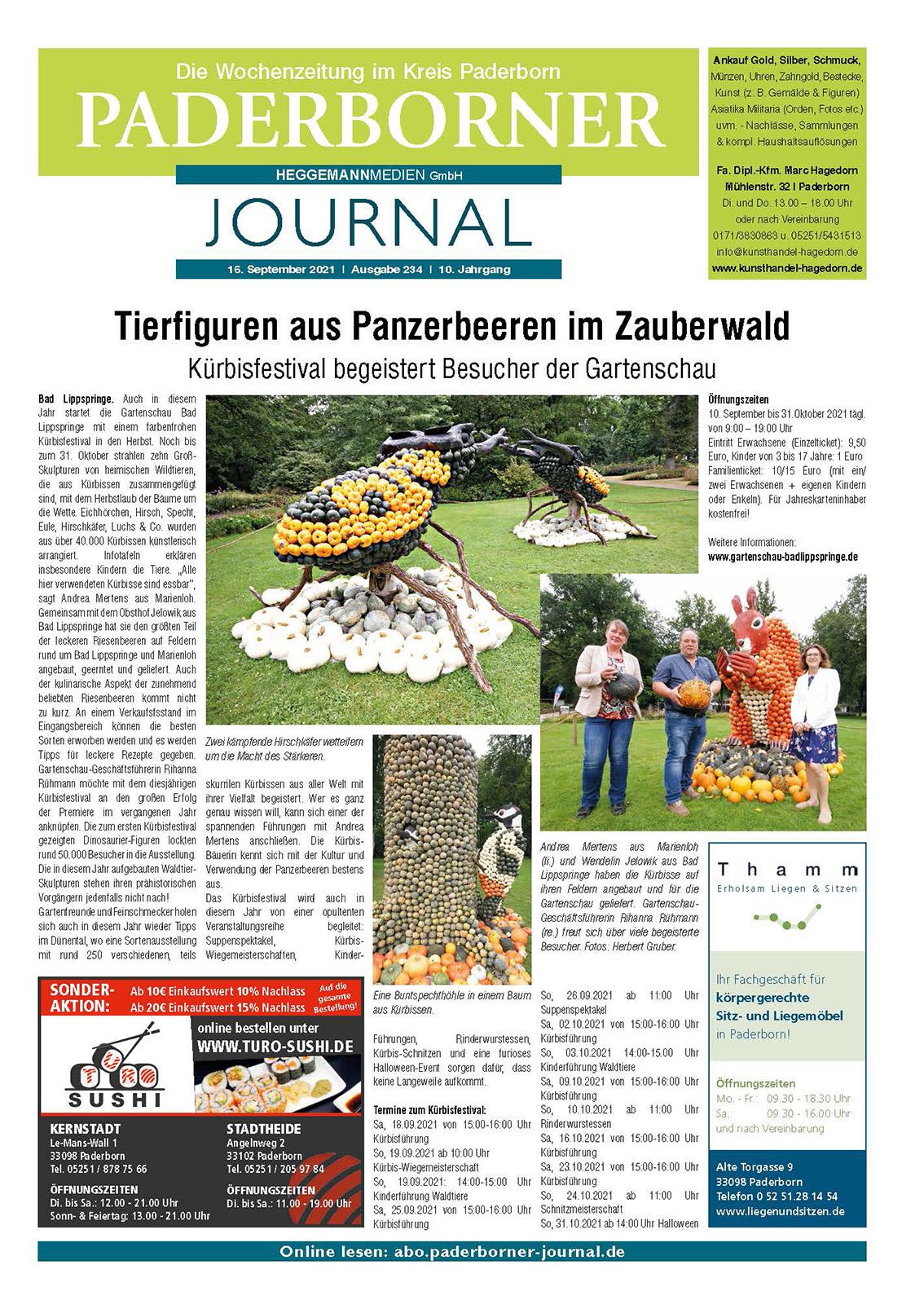 Paderborner Journal Ausgabe 234
